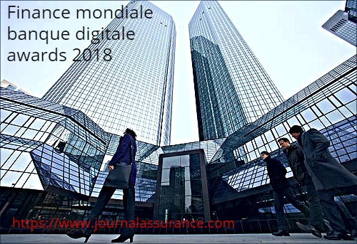 Finance mondiale banque digitale awards 2018