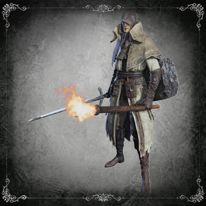 Nameless Tomb Prospector (Kirkhammer & Repeating Pistol)