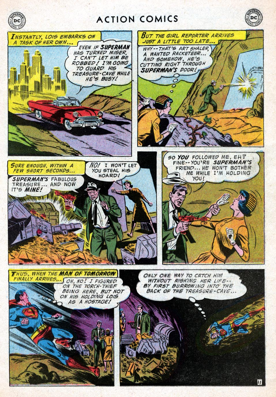 Read online Action Comics (1938) comic -  Issue #219 - 13