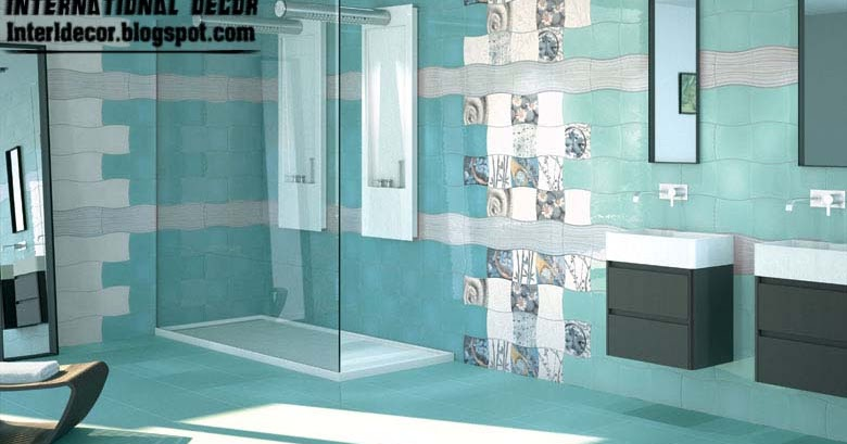 turquoise tiles bathroom contemporary turquoise bathroom tile designs ideas 14838