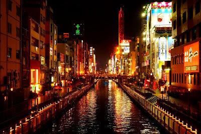 Le Chameau Bleu - voyage à Osaka au Japon