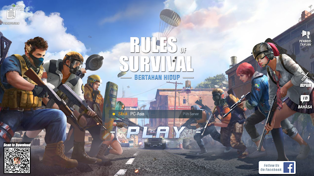 Review Lengkap Rules Of Survival PC Indonesia, Battleroyale Untuk PC Specs Low
