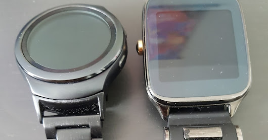 Switching from the Asus ZenWatch 2 to the Samsung Gear S2