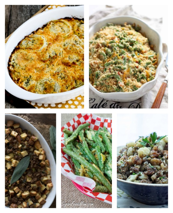 The BEST Low-Carb and Gluten-Free Thanksgiving Side Dishes found on KalynsKitchen.com