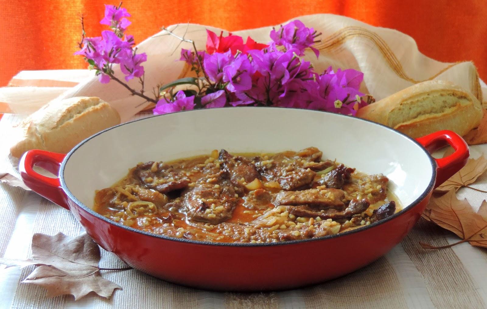 Cocinando Con Las Chachas Ternera En Salsa De Almendras