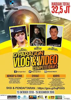 D'Paragon Vlog & Video Competition #2 Berhadiah Puluhan Juta Rupiah