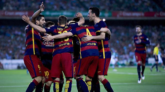 [Video] Cuplikan Gol Barcelona 5-0 Espanyol (Liga Spanyol)