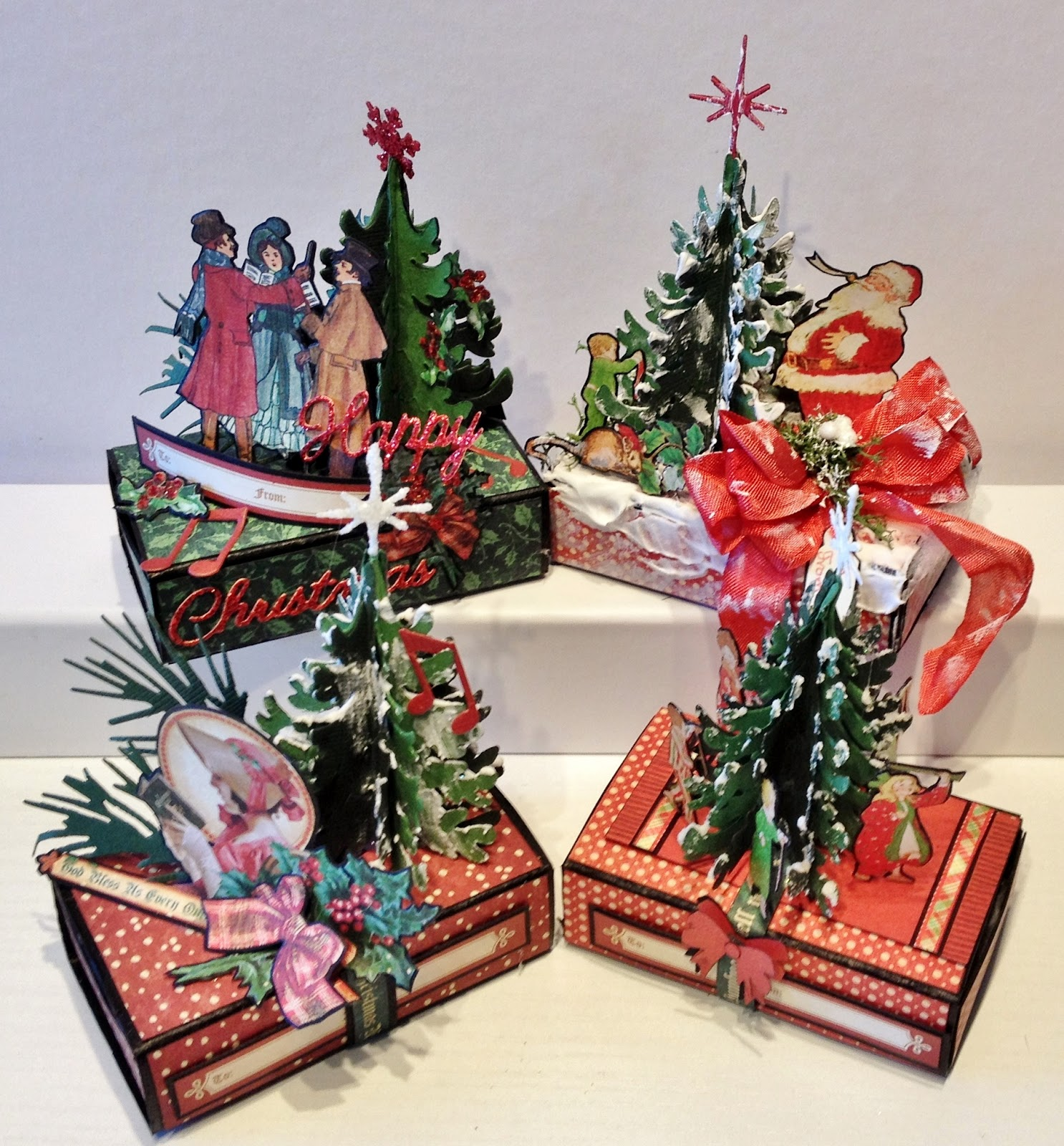 annes papercreations - Twas The Night Before Christmas Decorating Ideas