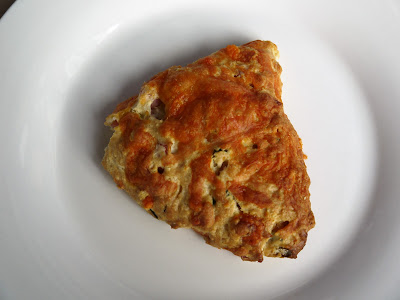 ham and cheese scone