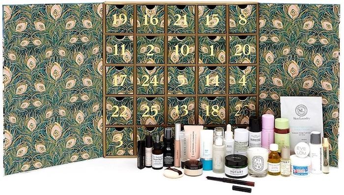 Liberty Beauty Advent Calendar 2018 contents, spoilers