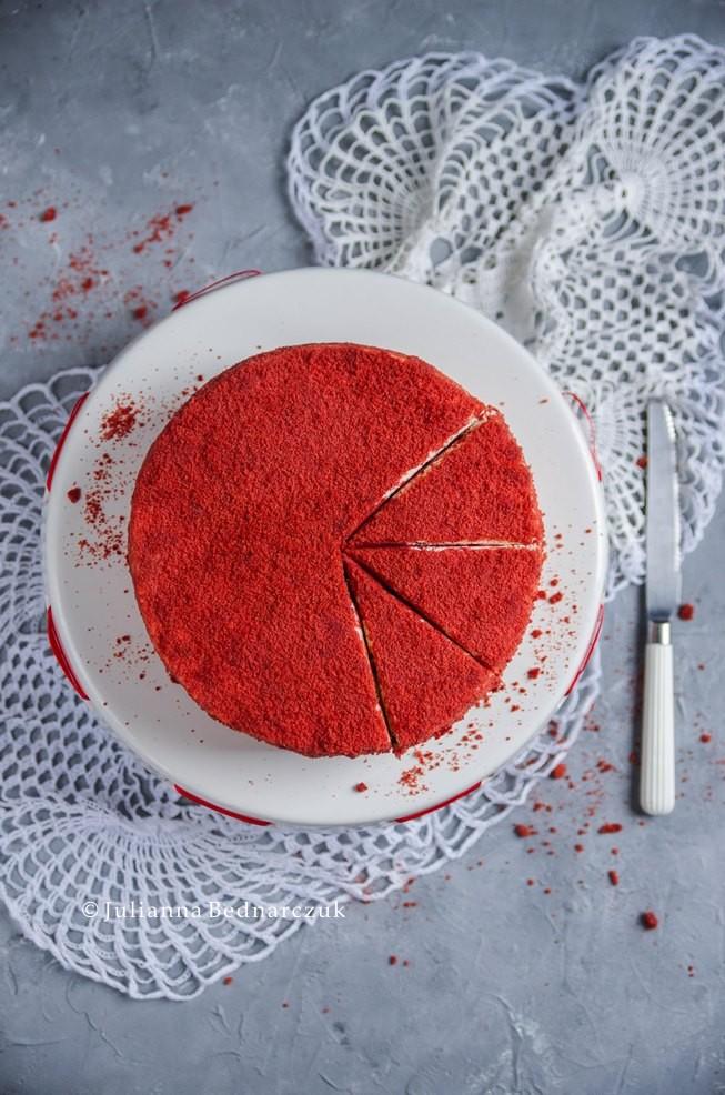 Obiad Gotowy Red Velvet Cake Tort O Aksamitnym Smaku