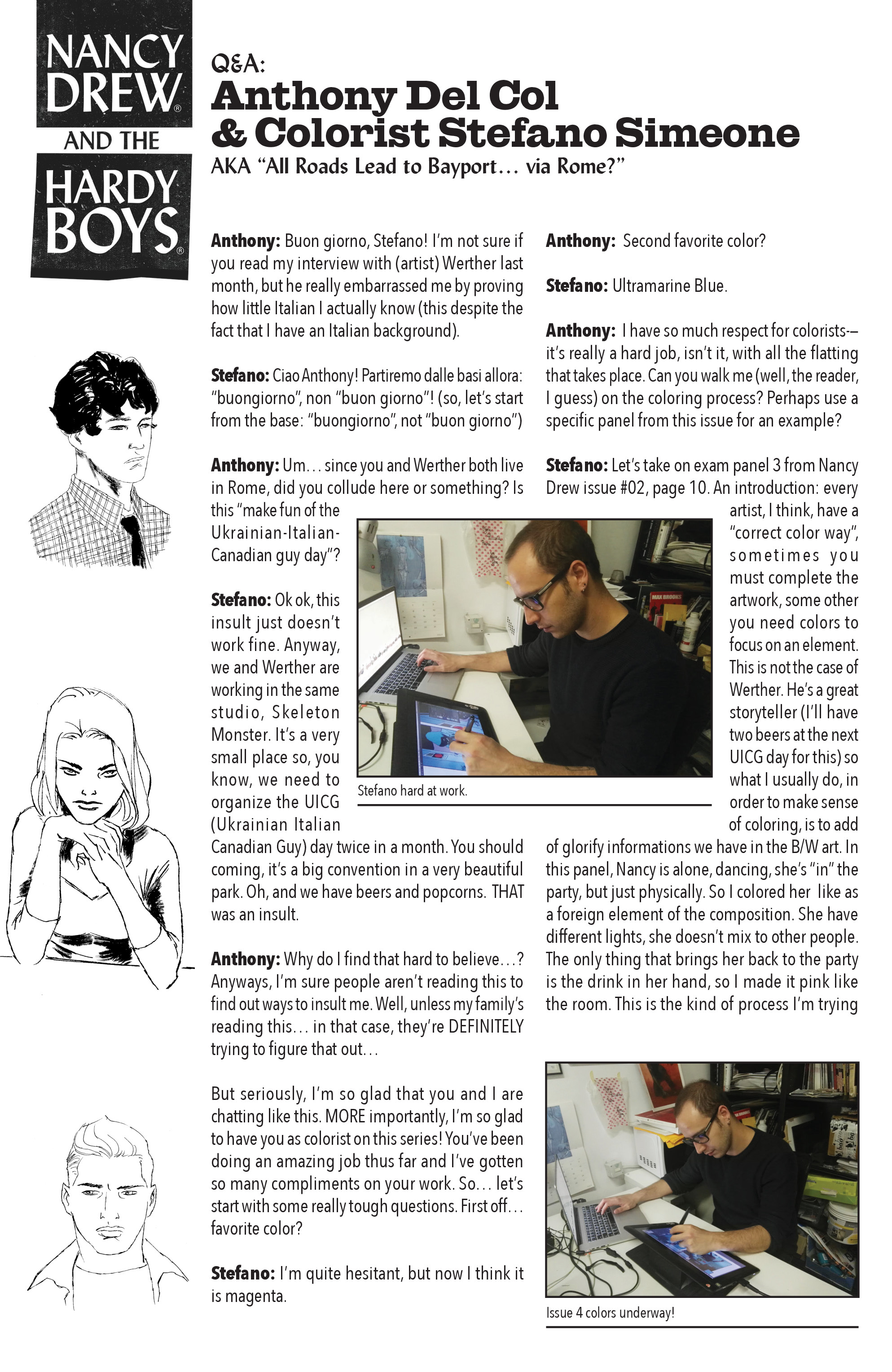 Read online Nancy Drew And The Hardy Boys: The Big Lie comic -  Issue #4 - 27