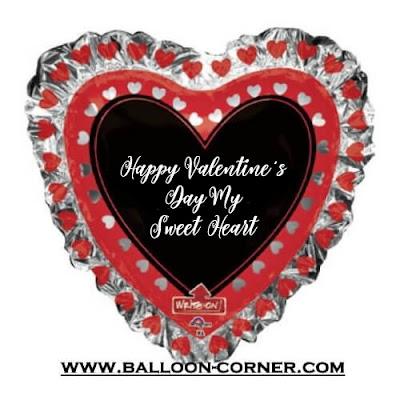 Ide Surprise Gift Valentine's Day Dengan Balon Foil Hati Kreasi Sendiri