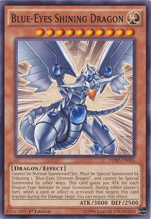 Blue-Eyes Shining Dragon dirilis tahun 2004