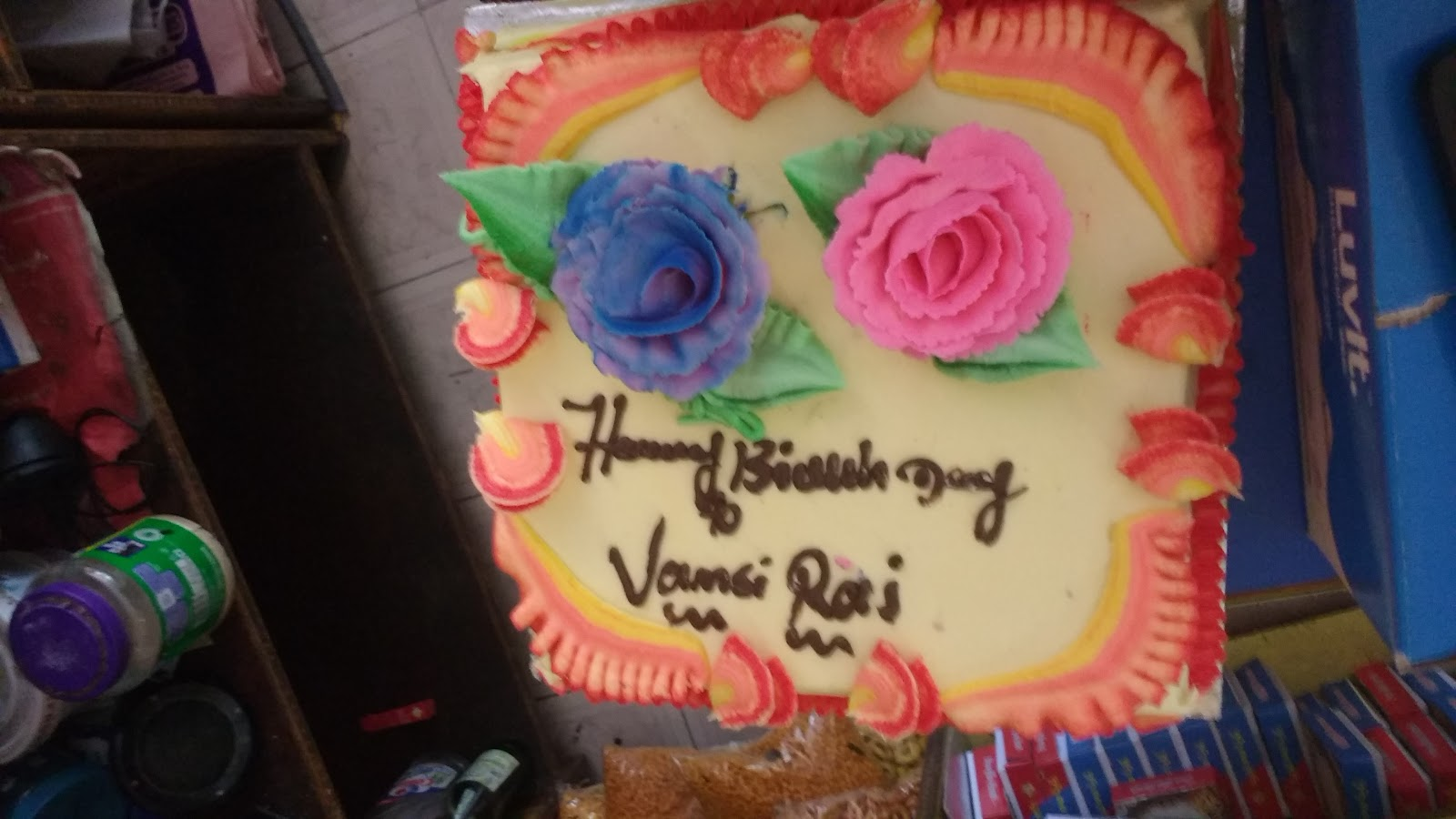 Happy Birthday Vasmi Raj Durgaprasad