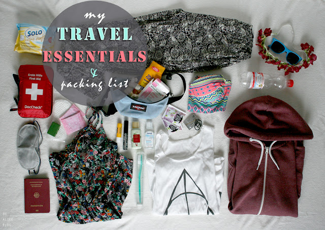 carry-on, vacation, packing list, travelling