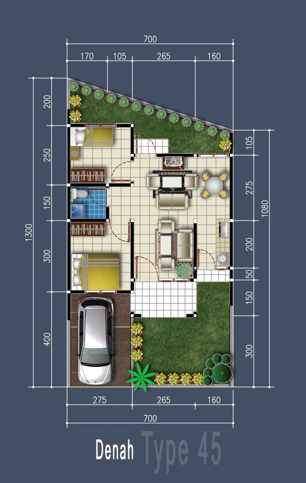 Desain Rumah Sederhana Minimalis Oktober 2013
