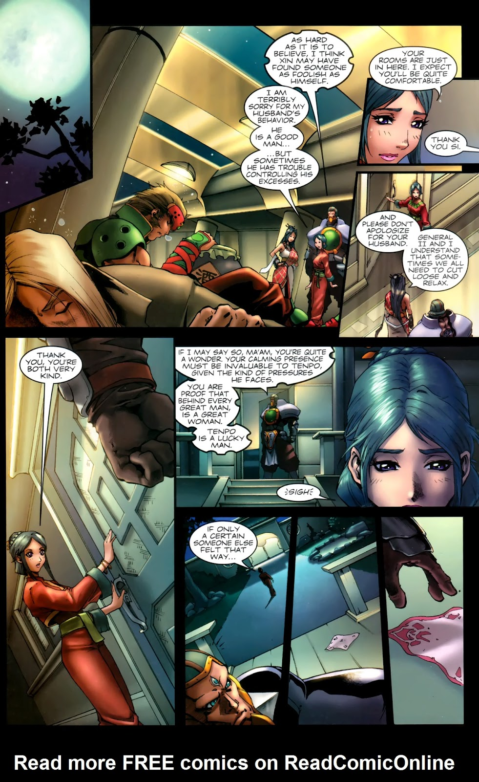 Read online Xin: Journey of the Monkey King comic -  Issue #1 - 23