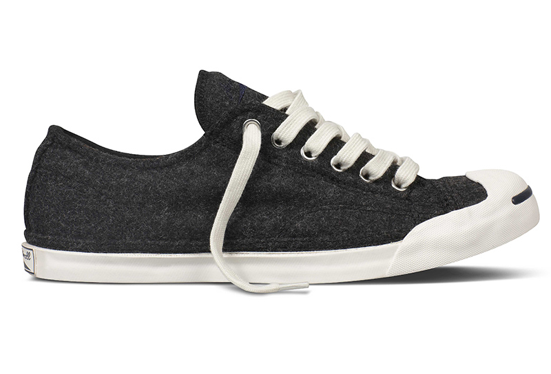 5dfc5eaa3b463f The Converse Jack Purcell Wool collection s sophisticated
