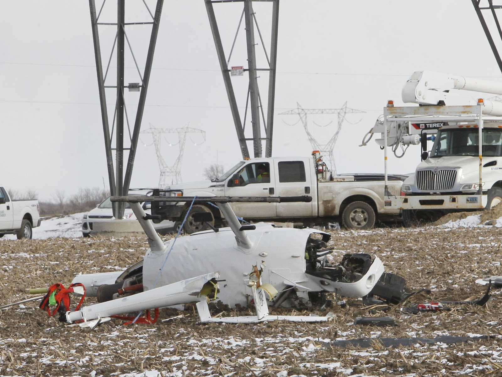 Indiana white county chalmers - White County Ind Wlfi A Helicopter Crash In White County That Killed A Pilot Remains Under Investigation