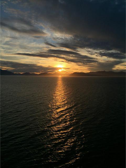 Sunrise, Inside Passage