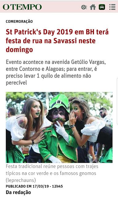 538d50b4fbc3 Saint Patrick ou São Patrício? Saiba por que a festa irlandesa está a cada  ano mais brasileira.