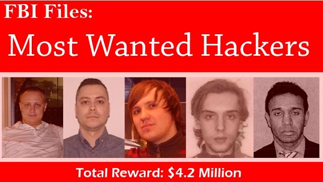 5 أخطر هاكرز مبحوث عنهم في العالم تكشف عنهم هل تستطيغ ان تكون مثلهم 4.2 مليون دولار لمن يساعد في القبض عليهم