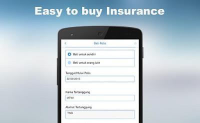 Aplikasi Asuransi Android