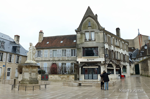 Plaza Jacques Coeur, Bourges