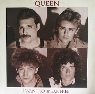 Queen - I Want To Break Free okładka singla
