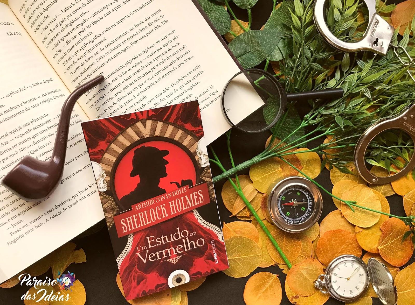 [Resenha] Um Estudo em Vermelho - Sir Arthur Conan Doyle