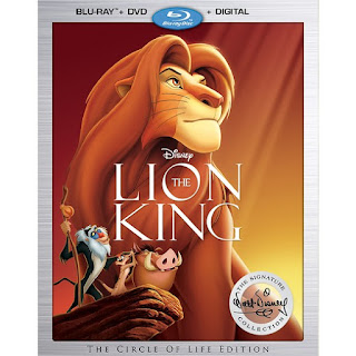 THE LION KING Signature Collection Blu-ray