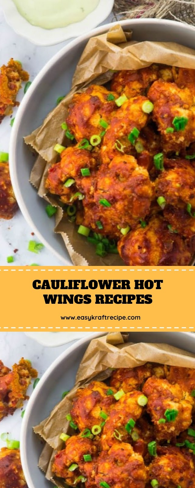CAULIFLOWER HOT WINGS RECIPES