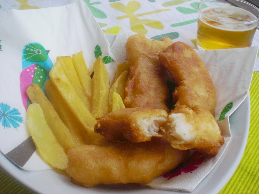 Fish & Chips sin lactosa