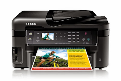 Download Driver Epson WORKFORCE WF-3520DWF