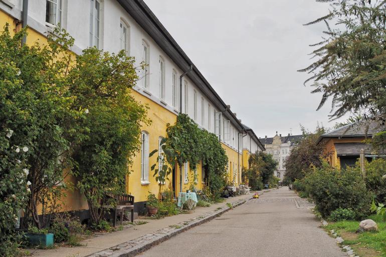 Brumleby dans le quartier de Østerbro à Copenhague