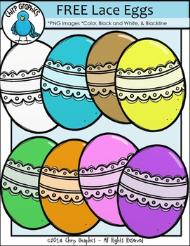 https://www.teacherspayteachers.com/Product/FREE-Lace-Easter-Eggs-Clip-Art-Set-Chirp-Graphics-1766225