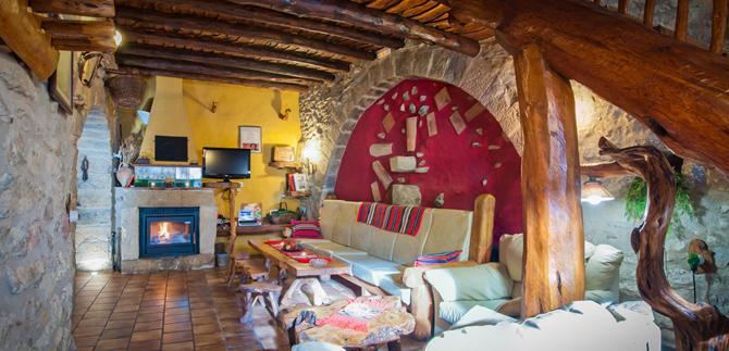 Art rustic turismo rural 3 y 4 estrellas gran casa rural en - Casa rural castellon jacuzzi ...