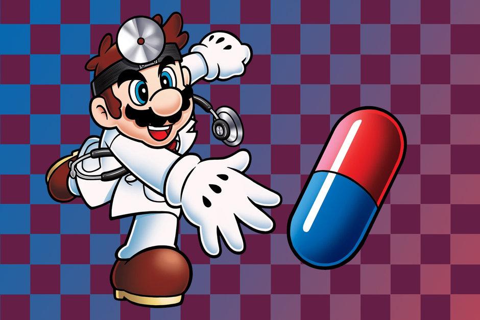 لعبة Dr. Mario على الهواتف الذكية هذا العام
