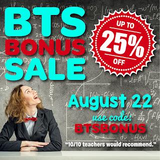 Bonus Sale!