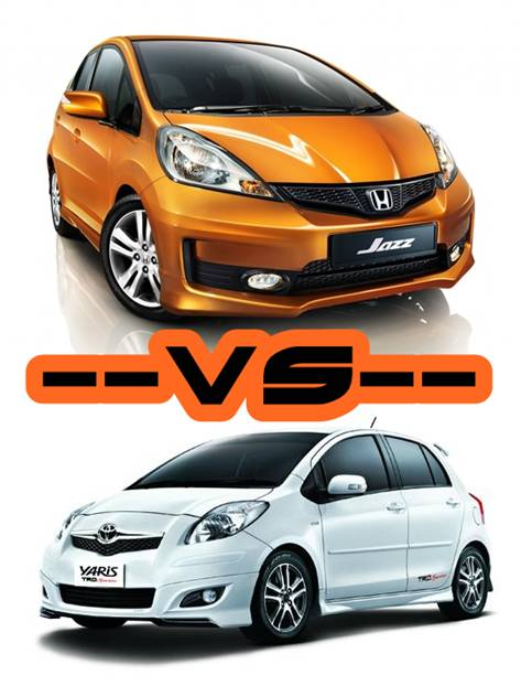 Toyota Yaris Trd Vs Honda Jazz Rs Harga All New Camry 2018 Indonesia Arina Gresik Perbandingan