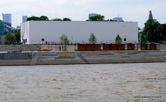 Muzeum Sztuki Nowoczesnej Warsaw miasto Wisła rejs po Wiśle city rok Wisły 2017 tramwaj wodny