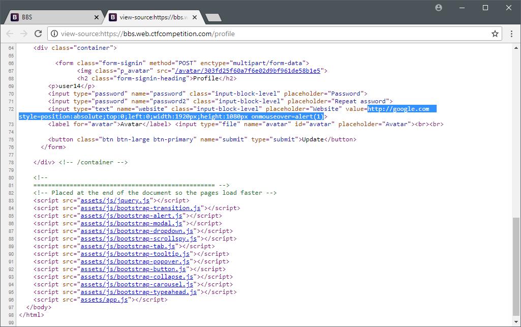 Xss To Rce Payload