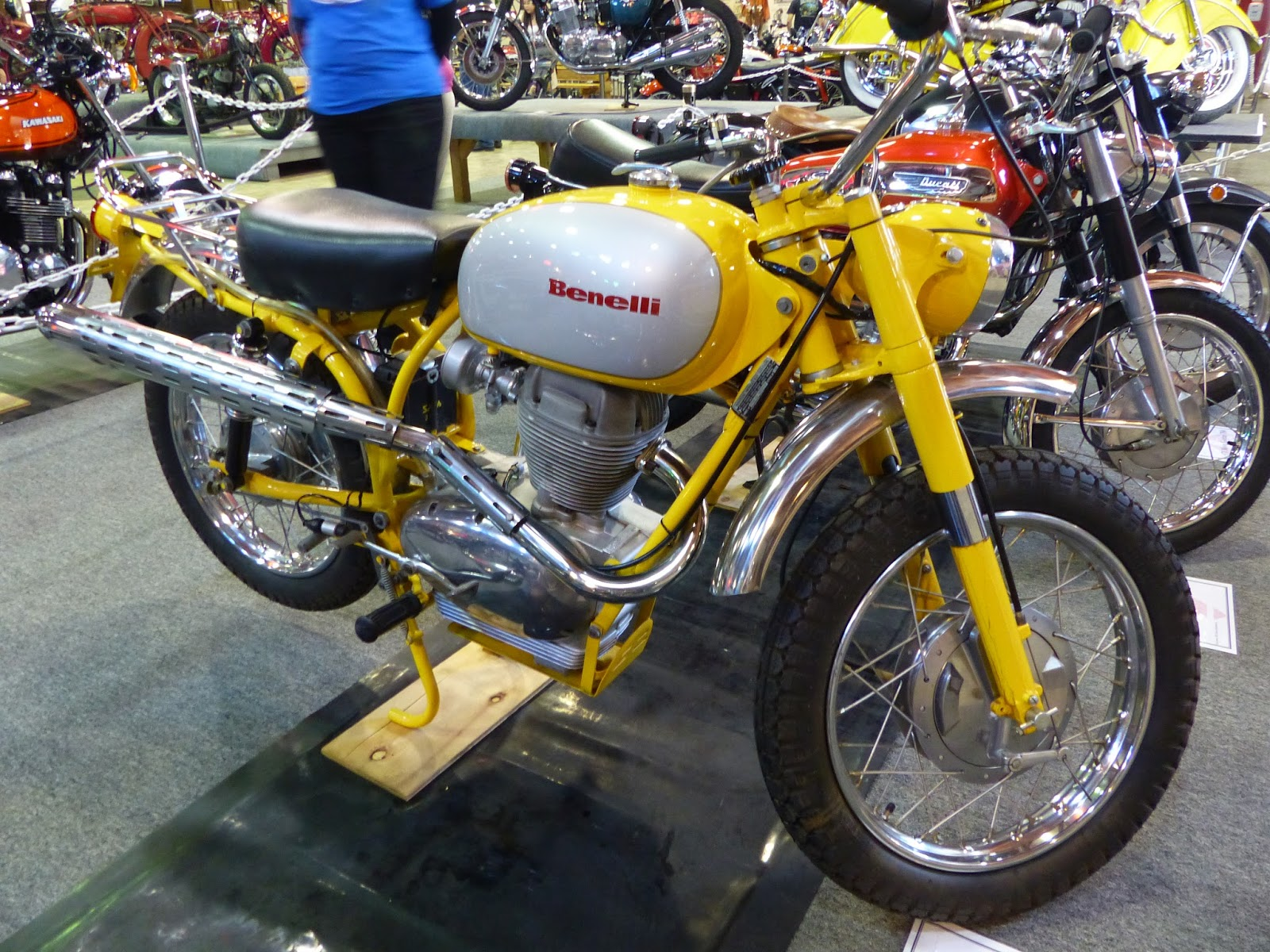 1967 Benelli Montgomery Wards 250 Scrambler On Display At The 2016 Marymount Motorcycle Week Tacoma Wa