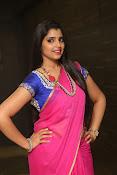 syamala sizzling saree stills-thumbnail-19