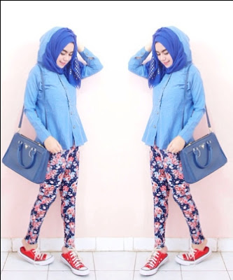 fashion hijab anak kampus model 6