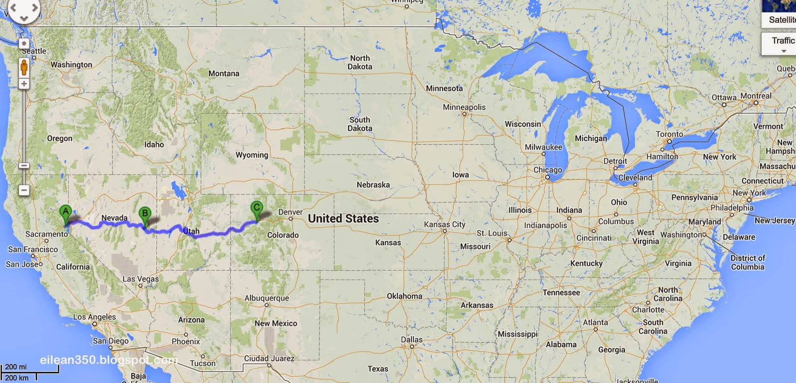 Loneliest Road In America Map.Tales From The Highway The Loneliest Highway In America