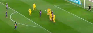 برشلونة يفوز على أتلتيكو مدريد بهف ميسى