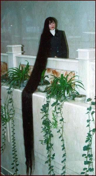 Die Längsten Haare