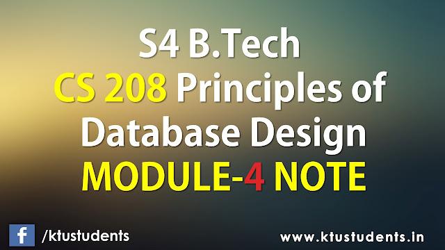 ktu cs208 note module4